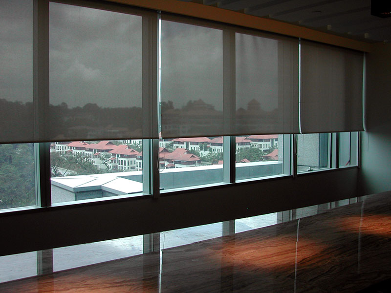 Dual Roller Shades System : Roller shades custom window sheer malaysia